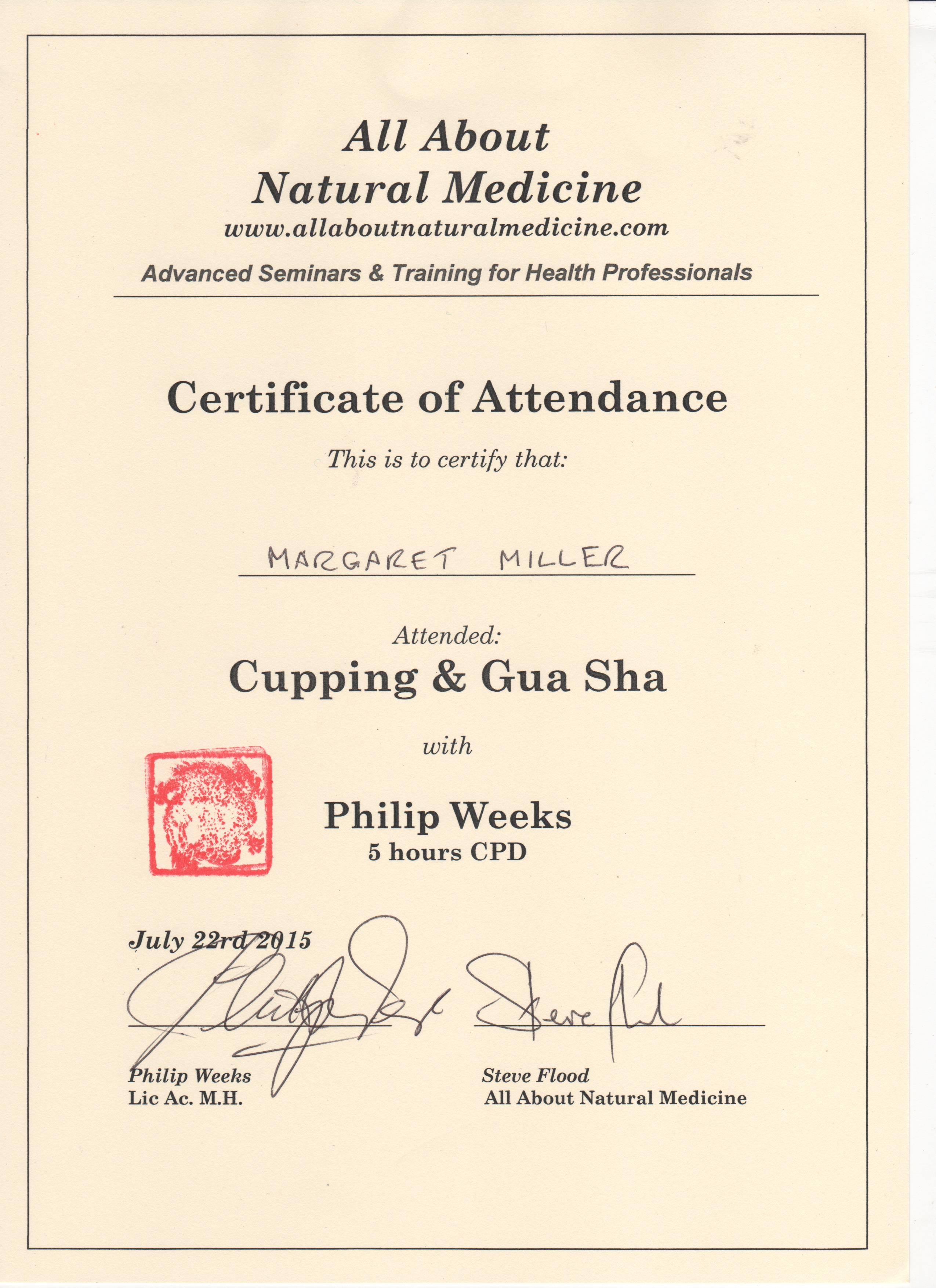 Certificates and qualifications inverness acupuncture 07962 66 kht certificate 001 tung certificate 001 gua sha and cupping 001 2 xflitez Gallery