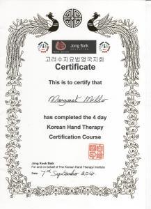 KHT certificate 001