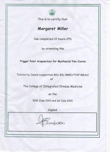 trigger point certificate 001