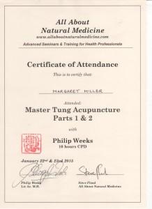 tung certificate 001